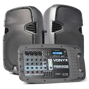 "Vonyx PSS302 Port. Soundset 10"""" MP3/BT"