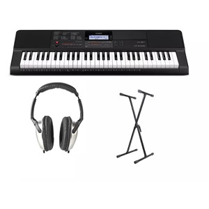 Casio CT-X700 keyboardpakke m/ stativ og headsett